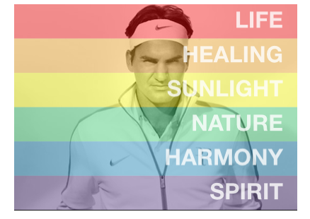 Pride effect and Roger Federer