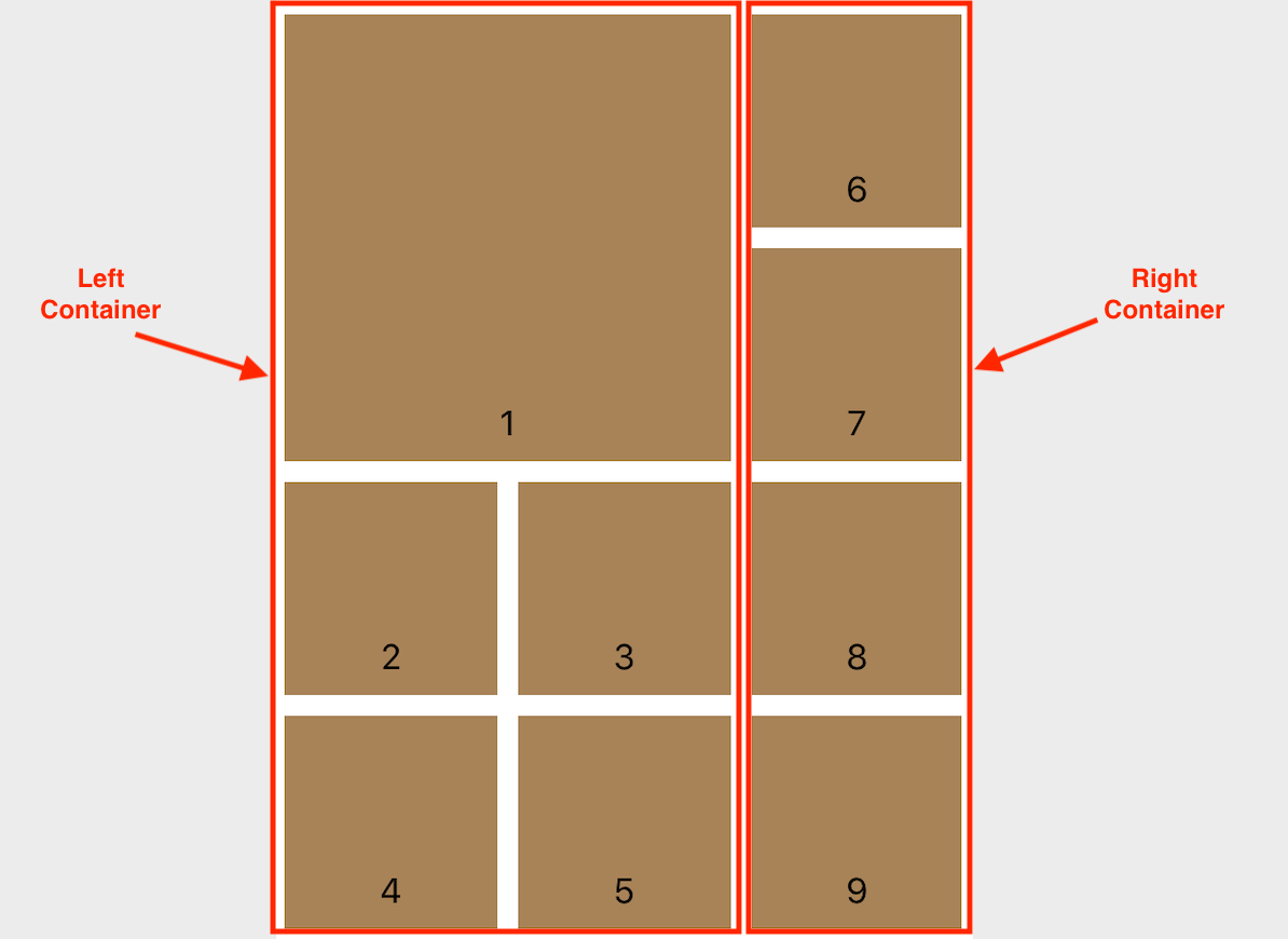 UICollectionView Compositional Layout